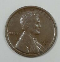 1923-S LINCOLN/WHEAT EARS REVERSE CENT EXTRA FINE 1C