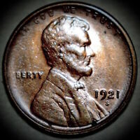 1921-S LINCOLN WHEAT CENT,  BETTER DATE COIN