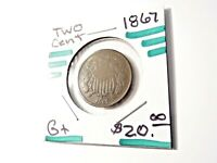 1867 U.S. TWO CENT -G     742