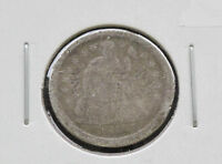1841-P LIBERTY SEATED 90 SILVER DIME U.S. COIN D2653