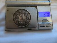 SOLID SILVER ORIGINAL 100  CHINESE HU PEH PROVENCE ONE TAEL