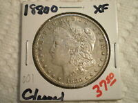 1880-O MORGAN SILVER DOLLAR/ CLEANING--SHIPS FREE AND HANDLING------------