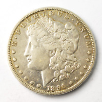 1896 O $1 MORGAN SILVER ONE DOLLAR US VAM 22