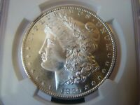 1880 S  MORGAN SILVER DOLLAR  / NGC - MINT STATE 66