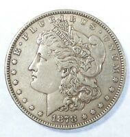 1878 7-TAIL FEATHER REVERSE OF 1879  MORGAN DOLLAR EXTRA FINE SILVER $
