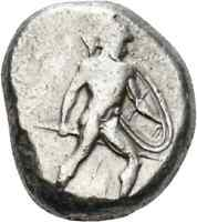 DIONYSOS PAMPHYLIEN AR STATER ASPENDOS KRIEGER TRISKELIS  HD