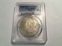 1878 7/8TF MINT STATE 61 VAM 34 PCGS WEAK 7/4TF MORGAN SILVER DOLLAR HOT 50  R5 POP 3