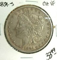 1891-S MORGAN SILVER DOLLAR  CH/VF ORIGINAL  LOOKING COIN