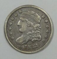 1833 CAPPED BUST SILVER HALF DIME FINE