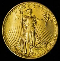 1922 $20 SAINT GAUDENS GOLD DOUBLE EAGLE ITEMT10810