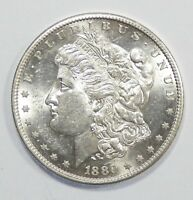 1889-S MORGAN DOLLAR  ALMOST UNCIRCULATED/UNC SILVER DOLLAR