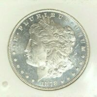 1878 7/8 TF MORGAN SILVER DOLLAR  BU PROOF-LIKE VAM41A  BEAUTIFUL COIN