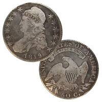 CAPPED BUST HALF DOLLARS AVERAGE CIRCULATED