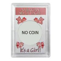 AMERICAN SILVER EAGLE CASE IT'S A GIRL