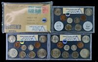 1948 US MINT DOUBLE MINT SET WITH ORIGINAL PACKAGING ANACS GRADED GEM BU 65/66