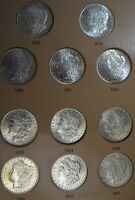 32 COIN COMPLETE 1878-1921 MORGAN SILVER DOLLAR DATE/MINT SET 1893 O 1895 S  CC