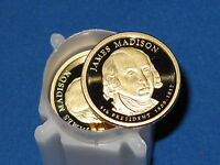 2007-S PRESIDENTIAL DOLLAR JAMES MADISON ROLL OF 20 COINS