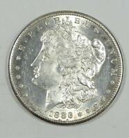 1886-S MORGAN DOLLAR UNC SILVER DOLLAR  LOOKS CHOICE BU W/LIGHT HAIRLINES