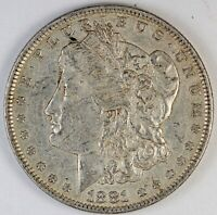 1881-O UNITED STATES MORGAN SILVER DOLLAR - EXTRA FINE  EXTRA FINE CONDITION