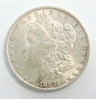 1890 P US MINT MORGAN SILVER $1 DOLLAR COIN  UNCIRCULATED  SHIPS FREE