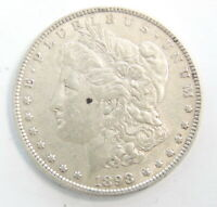 1898 P US MINT MORGAN SILVER $1 DOLLAR COIN  EXTRA FINE  SHIPS FREE