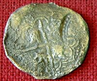 LOVELY C1653 OVERSTUCK 8 REALES OR PIECE OF 8   CAPITANA SHI