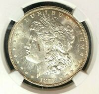 1878 8TF VAM 21 NGC MINT STATE 62 MORGAN SILVER DOLLAR-GENE L HENRY LEGACY COLLECTION