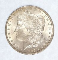 1885 MORGAN DOLLAR  BRILLIANT UNCIRCULATED SUPER SILVER DOLLAR