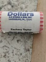 $25 ROLL GOLD $1 US COINS ZACHARY TAYLOR CURRENCY 2009 25-ONE DOLLAR COINS