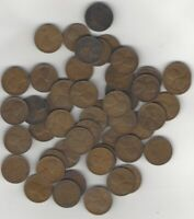 ROLL OF 50 1930-D UNITED STATES LINCOLN CENTS PENNIES CIRCULATED