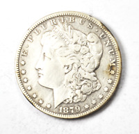 1879 S $1 MORGAN UNITED STATES SILVER ONE DOLLAR SAN FRANCISCO VAM 39 78 REVERSE