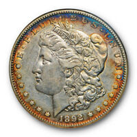 1892 S $1 MORGAN DOLLAR NGC EXTRA FINE  45 EXTRA FINE TO AU OLD FATTY LOOKS R