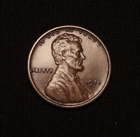 1911-S  LINCOLN WHEAT CENT  LOOKS UNC