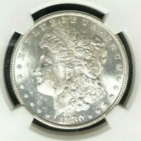 1880/9-S VAM 11 NGC MINT STATE 61 MORGAN SILVER DOLLAR-GENE L HENRY LEGACY COLLECTION