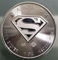 CANADA   2016 SILVER CANADIAN $5 SUPERMAN S SHIELD .9999   1