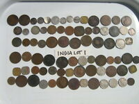 INDIA BRITISH RAJ  LOW GRADE  WORN BENT HOLED DAMAGED  LOT 1