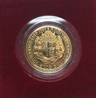 1989 GREAT BRITAIN GOLD SOVEREIGN 500TH ANNIV. OF 1ST GOLD SOVEREIGN ULTRA