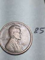 1922-D LINCOLN WHEAT CENT,  DATE, 85