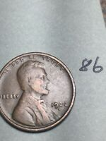 1922-D LINCOLN WHEAT CENT,  DATE, 86