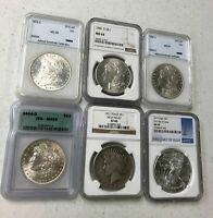 HUGE 269 COIN LOT  171 SILVER  W/ PCGS 2000 GOLD   1884 MORG