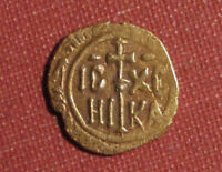1166 1189 MESSINA SICILY ITALIAN STATES ONE TARI GOLD   SMALL MEDIEVAL COIN