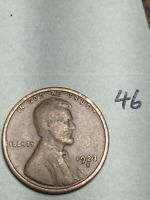 1923-S LINCOLN WHEAT CENT,  DATE, 46