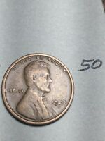 1923-S LINCOLN WHEAT CENT,  DATE, 50