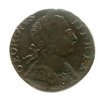 CONTEMPORARY NON REGAL 1775 BRITISH FARTHING   NICER GRADE