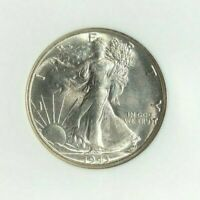 1943-S WALKING LIBERTY SILVER HALF DOLLAR-NGC MINT STATE 65 NEVADA COLLECTION
