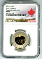 2020 CANADA $2 NGC SP69 FIRST RELEASES SPECIMEN TWO DOLLAR T