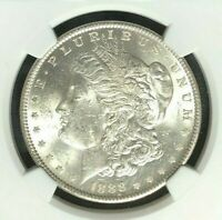 1888 VAM 18 NGC MINT STATE 61 MORGAN SILVER DOLLAR-GENE L HENRY LEGACY COLLECTION