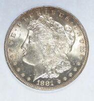 1881-O MORGAN DOLLAR  BRILLIANT UNC SILVER DOLLAR