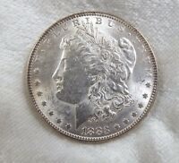 1883 MORGAN DOLLAR  ALMOST UNCIRCULATED SILVER DOLLAR