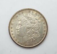 1890-S MORGAN DOLLAR ALMOST UNCIRCULATED/UNC SILVER DOLLAR